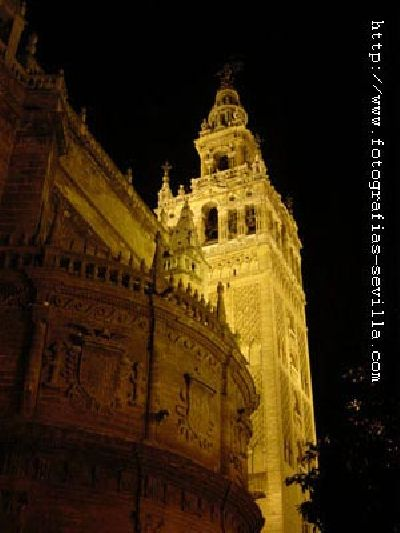 Foto de la Giralda y la Catedral de Sevilla