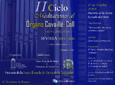Concierto: Meditaciones al órgano Cavaillé-Coll de Sevilla (octubre 2015)