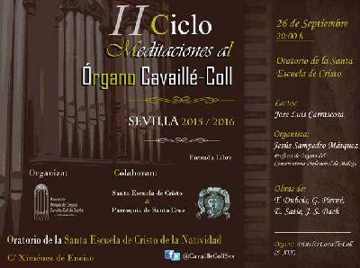 Concierto: Meditaciones al órgano Cavaillé-Coll de Sevilla (septiembre 2015)