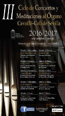 Temporada 2016-2017 de conciertos del Órgano Cavaillé-Coll de Sevilla