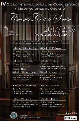 Temporada 2017-2018 de conciertos del Órgano Cavaillé-Coll de Sevilla