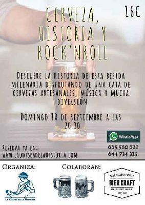 Cerveza, historia y rock and roll por La Odisea de la Historia en Sevilla