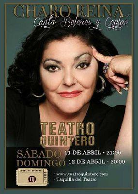 Concierto: Charo Reina, boleros y copla en el Teatro Quintero Sevilla