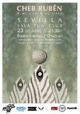 Concierto: Cheb Rubën en FunClub Sevilla