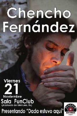 Concierto: Chencho Fernández en FunClub Sevilla