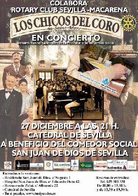 Concierto: Los chicos del coro en la Catedral de Sevilla
