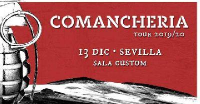 Cartel del concierto de Los Chikos del Maíz en Custom Sevilla 2019