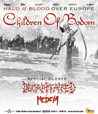 Concierto: Children of Bodom en Custom Sevilla