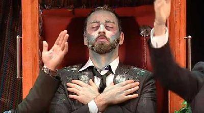 Chirigota No te vayas todavía en el Teatro Quintero de Sevilla