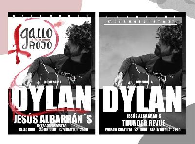 Conciertos: ciclo Homenaje a Bob Dylan en Sevilla (julio 2016)