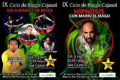 IX Ciclo de Magia de Cajasol en Sevilla