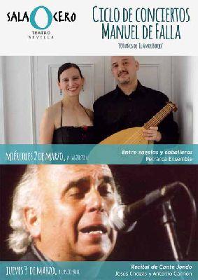 Ciclo de conciertos Manuel de Falla en la Sala Cero de Sevilla