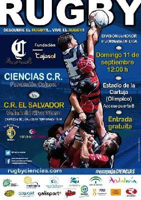 Rugby: Cajasol Ciencias - El Salvador Silver Storm en Sevilla 2016