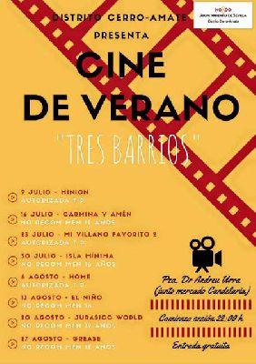 Cine de Verano Tres Barrios de Sevilla (2016)