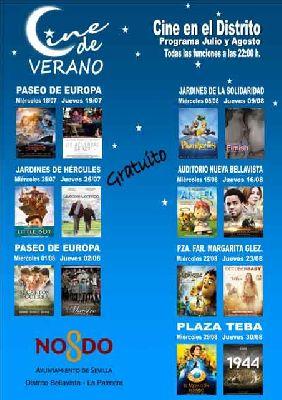 Cine de Verano en el Distrito Bellavista-La Palmera de Sevilla (2018)