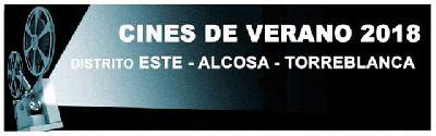 Cine de Verano en el Distrito Este-Alcosa-Torreblanca de Sevilla (2018)