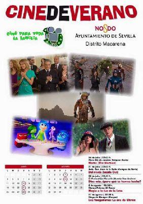 Cine de Verano Itinerante del Distrito Macarena de Sevilla (2016)