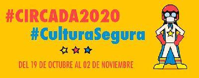 Cartel de la décimo tercera edición del Festival Circada 2020 en Sevilla