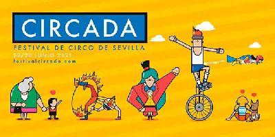 Cartel de la décimo cuarta edición del Festival Circada 2021 en Sevilla