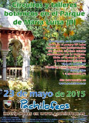 Circuito y talleres botánicos en el Parque de María Luisa de Sevilla