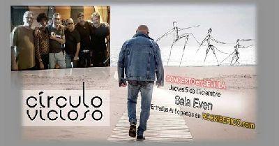 Cartel del concierto de Círculo Vicioso en la Sala Even Sevilla 2019