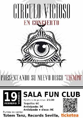 Concierto: Círculo Vicioso en FunClub Sevilla