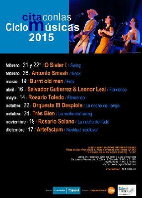 Cita con las Músicas en Sevilla (2015)