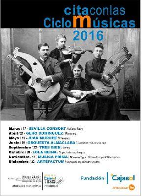 Cita con las Músicas en Sevilla (2016)