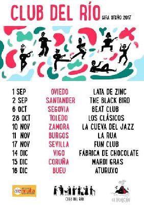 Concierto: Club del Río en FunClub Sevilla 2017
