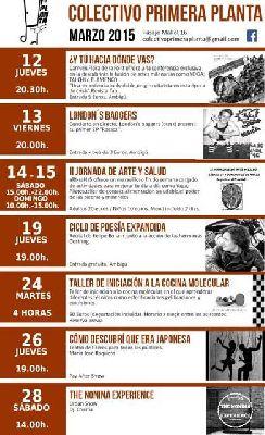 Programación de Colectivo Primera Planta Sevilla (marzo 2015)