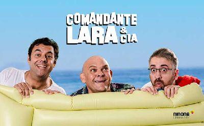 Cartel del espectáculo A toda costa de Comandante Lara y compañía