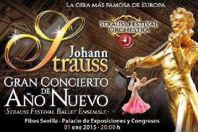 Concierto de Año Nuevo 2015 en Fibes Sevilla