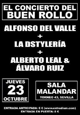 Concierto del buen rollo en Malandar Sevilla