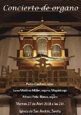 Concierto de órgano en la iglesia de San Andrés de Sevilla 2018