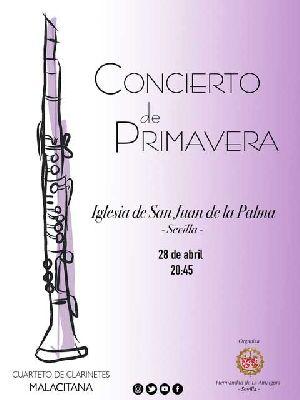 Concierto de primavera en la iglesia de San Juan de la Palma de Sevilla 2018