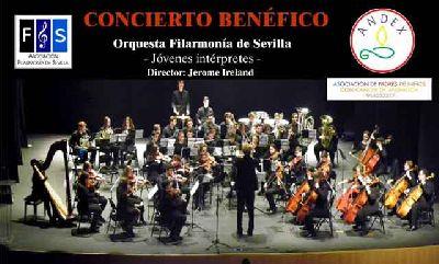 Concierto a beneficio de Andex en el Teatro Virgen de los Reyes de Sevilla