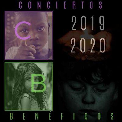 Cartel de los conciertos benéficos en Sevilla 2019-2020