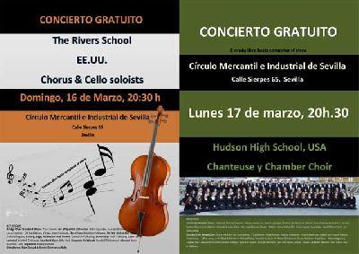 Conciertos corales en el Círculo Mercantil de Sevilla