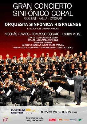 Gran concierto Sinfónico-Coral en el Cartuja Center de Sevilla 2018