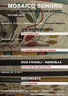 Ciclo de conciertos en la iglesia de San Alberto de Sevilla