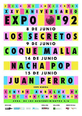Conciertos XXV aniversario de la Expo 92 en el CAAC Sevilla