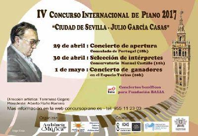 IV Concurso internacional de piano Ciudad de Sevilla 2017