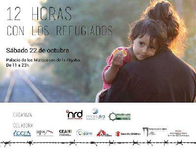 12 horas con los refugiados en Palacio Marqueses Algaba Sevilla 2016