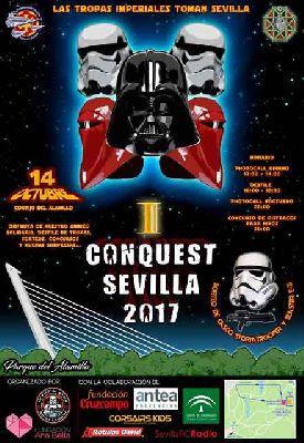 I Conquest Sevilla 2017 en el parque del Alamillo de Sevilla