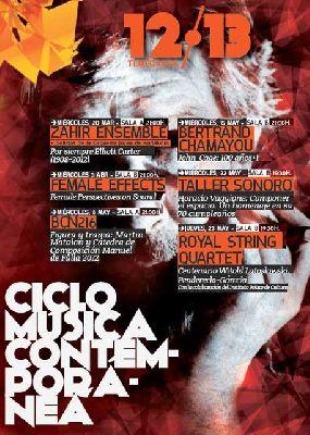 Ciclo de Música Contemporánea 2013 del Teatro Central de Sevilla