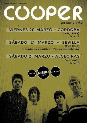 Concierto: Cooper Gira del aperitivo en FunClub Sevilla