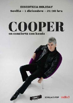 Concierto: Cooper en la Sala Holiday de Sevilla 2018