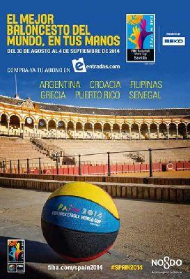 Copa del Mundo 2014 de Baloncesto en Sevilla