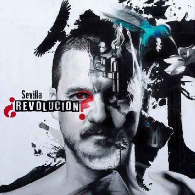 Cartel del concierto en Sevilla la gira ¿Revolución? de Coque Malla