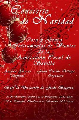 Conciertos de villancicos de la Asociación Coral de Sevilla